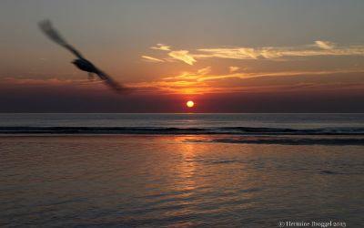 Zandvoort zonsondergang 2013